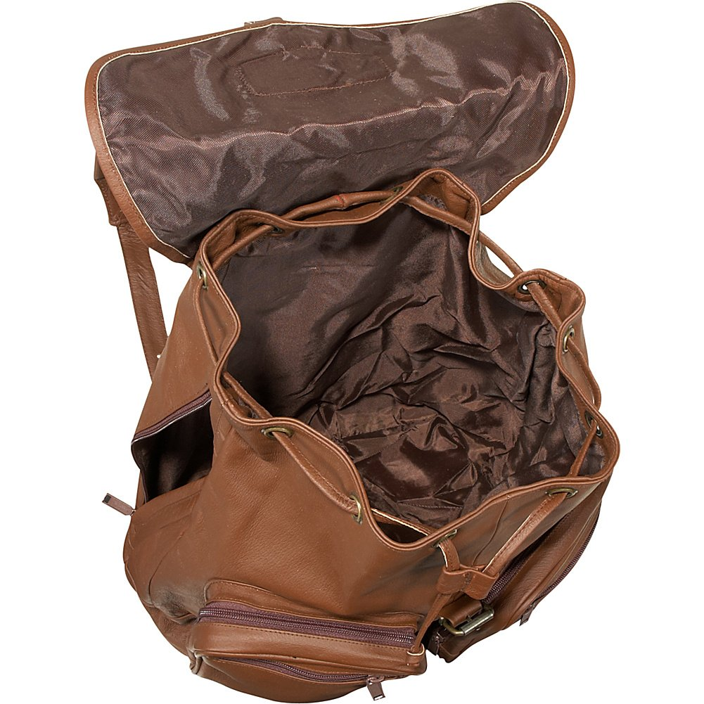 Bellino Sling Backpack Brown