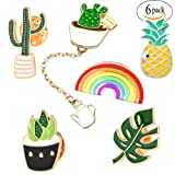 Amazon Price History for:Cute Enamel Lapel Pin Set - Cartoon Brooch Pin Badges for Clothes Bags Backpacks