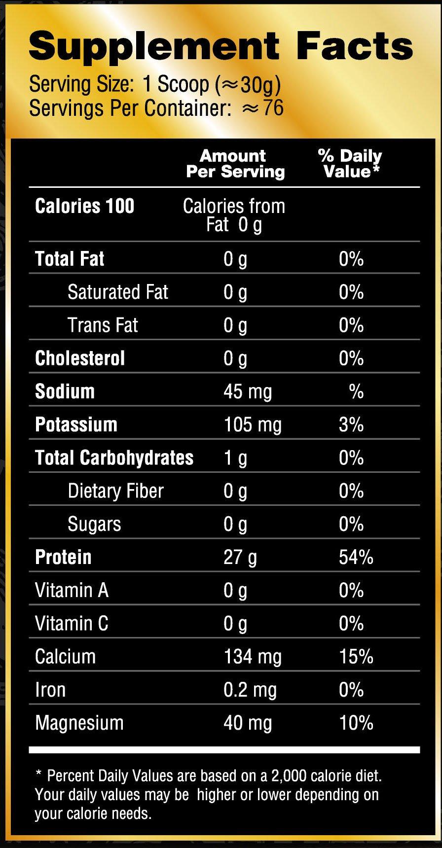 Royal Whey Protein Isolate 5lb Vanilla Delight