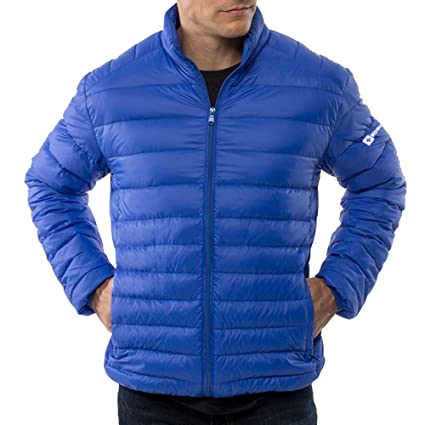 alpine swiss Niko Mens Down Jacket Puffer Coat Packable Warm Insulation & Feather Light Weight at Amazon Mens Clothing store:
