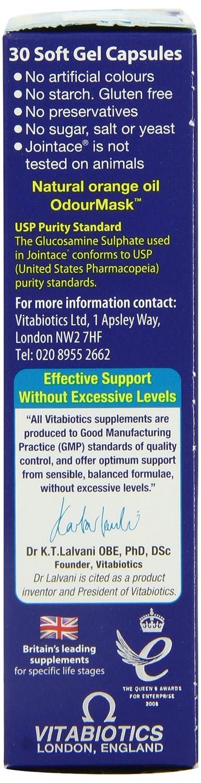 Vitabiotics Jointace Omega 3 Cod Liver Oil Glucosamine 30 Soft Gel Capsules: Amazon.es: Electrónica