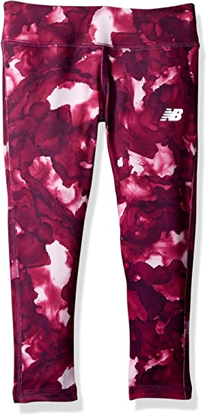 New Balance Girls Print Performance Tight