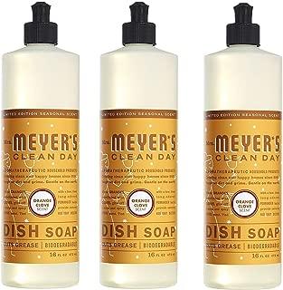 product image for Mrs. Meyer's Liquid Dish Soap Orange Clove, 16 FL OZ Pack of 3