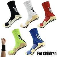 Dee Plus Niñas Niños Calcetines Antideslizantes de Deporte