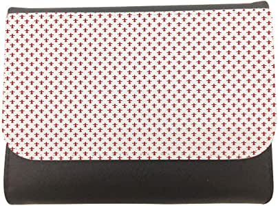 Decorative drawings Printed CaseWallet made of Leather, 14cm X 11cm