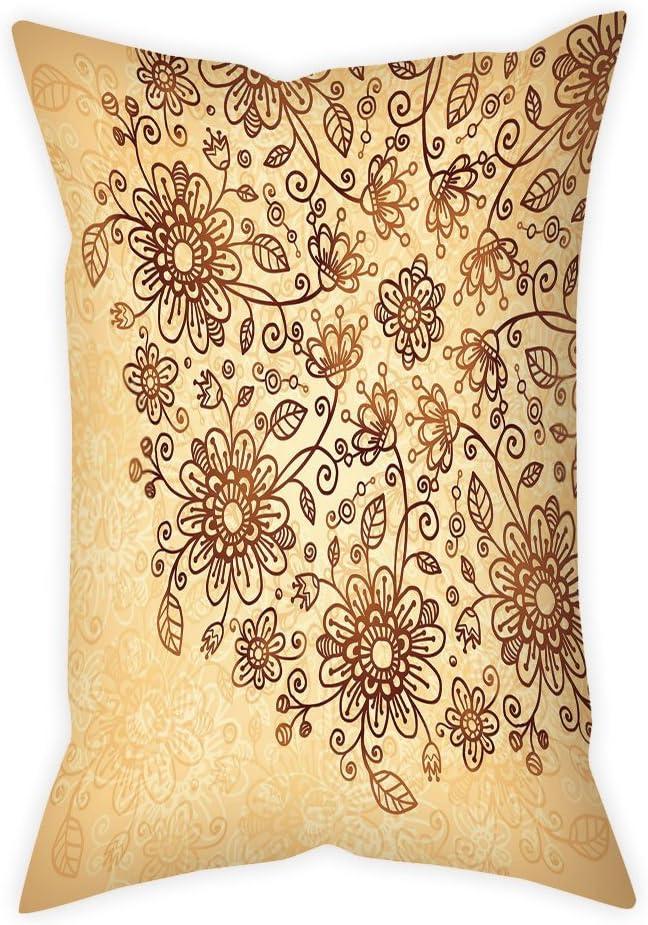 iPrint Microfiber Throw Pillow Cushion