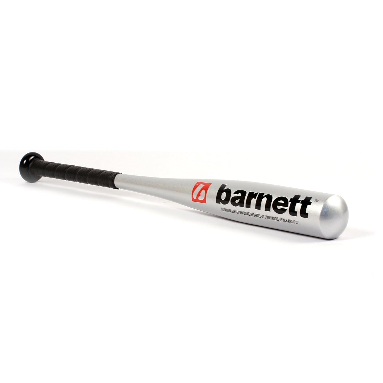 Barnett T-Ball Aluminium Baseball Bat, Size 25 63,5 cm , Silver Metal