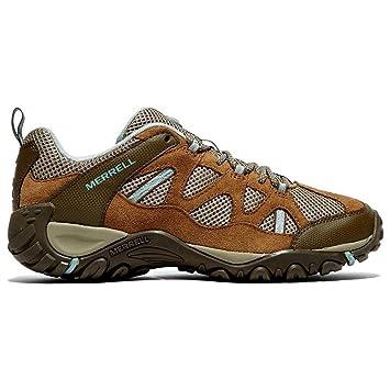 Zapatillas de Senderismo Merrell, para Mujer, Yokota Trail Ventilator, Marrã³n, 36: Amazon.es: Deportes y aire libre