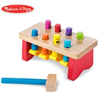 Melissa and Doug Deluxe Pounding Bench 4490 - Hammering and Nailing Toys