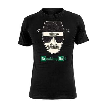 El oficial Original camiseta. Camiseta de Breaking Bad Heisenberg en tamaño S