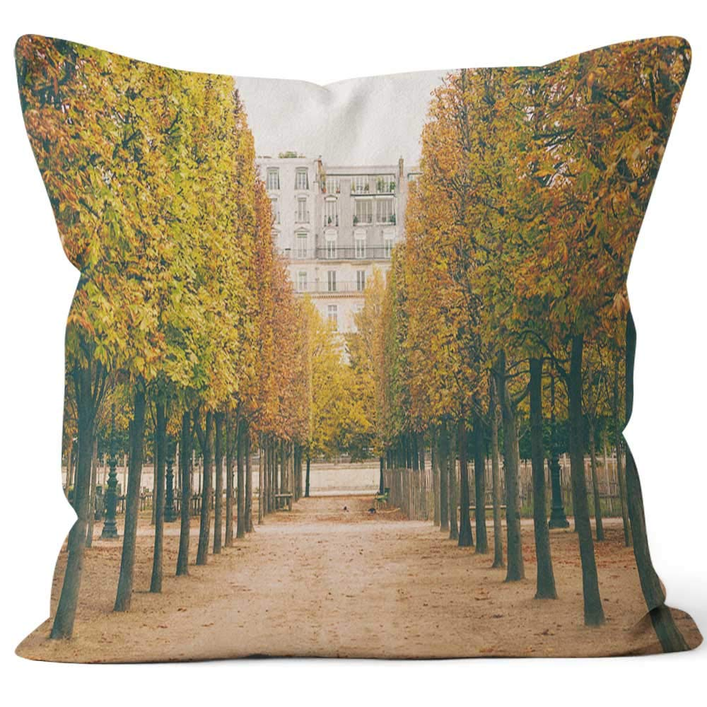 Amazon.com: Beautiful Autumn in Jardin des Tuileries in ...