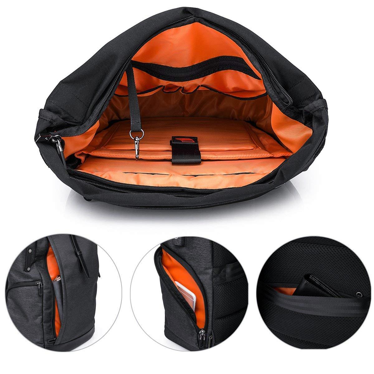 5a6e4c5eec55 Laptop Backpack 15.6 Inch Men Women Computer Rucksack