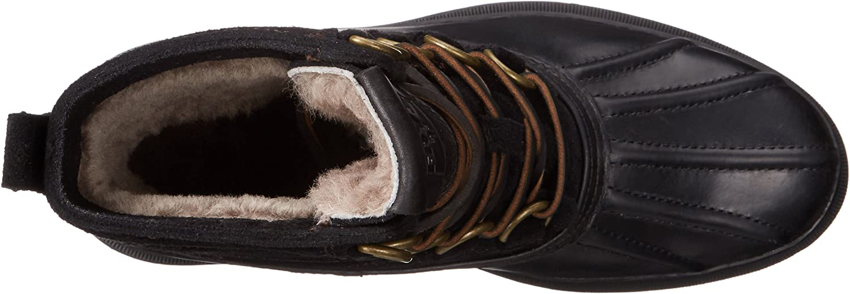 FRYE Riley D Ring Mens Waterproof Shearling Duck Boots