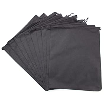 Amazon.com: Zicome 10 Pack Travel Shoe Bags with Drawstring - 11.6 ...