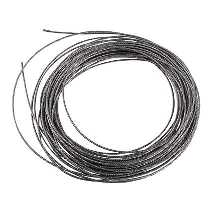 15m Cuerda de Alambre de Acero Inoxidable 304 Cable de Acero ...