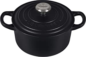 Le Creuset Signature Round Dutch Oven, 1 qt, Licorice