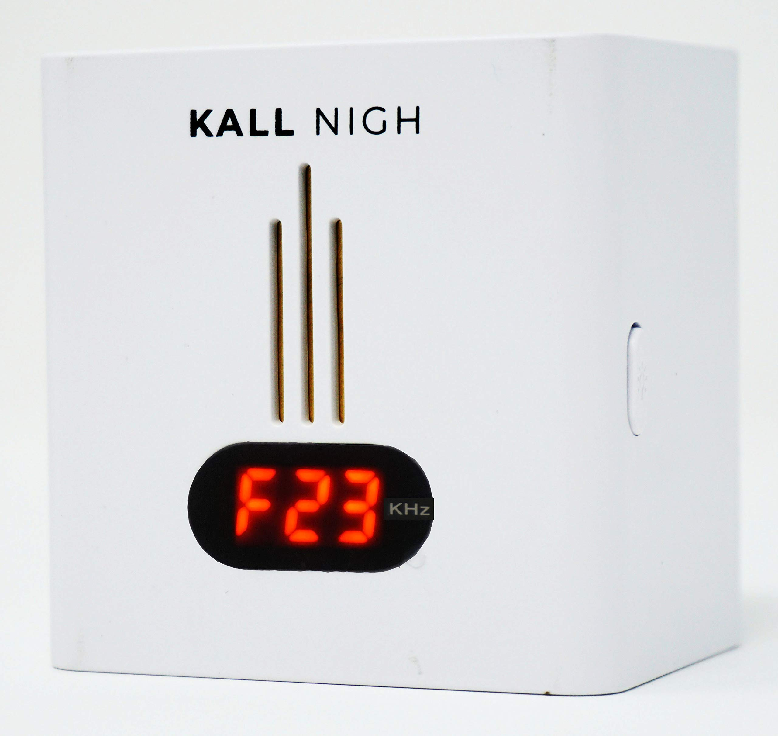 Night Pest Repellent Plug-In, Ultrasonic Repeller Night Light, Electromagnetic, Electronics Rejects Bugs, Insects, Cockroaches, Wasps, Other Small Creatures - Small, Safe, Quiet by KALL Nigh