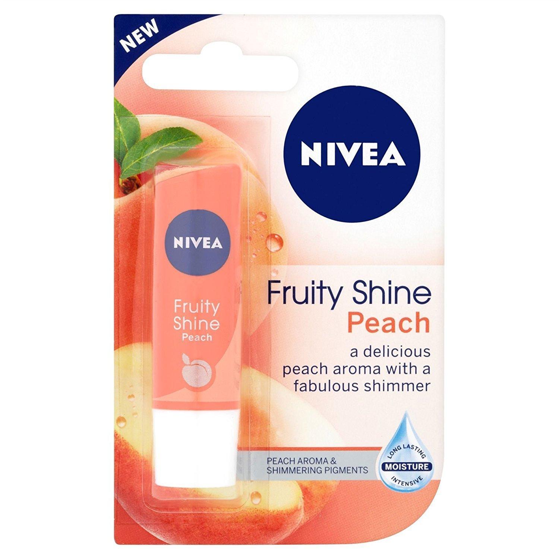 Nivea Lip Fruity Shine Peach Beiersdorf UK Ltd B00O56JVC8