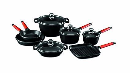 FUNDIX Conjunto Batería de Cocina, Aluminio: Amazon.es: Hogar