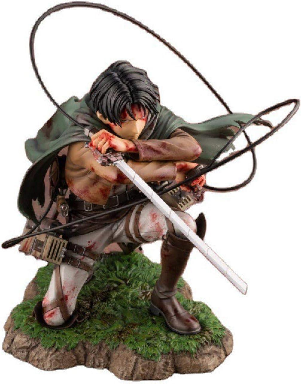 Attack on Titan Levi//Rivaille Figure Rival Ackerman Action Figure 15CM new