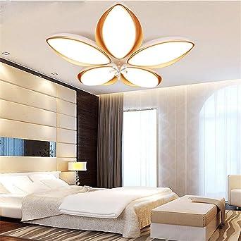 CHLIGHT Moderne Luxus Blume Geformte Deckenleuchte Acryl Dimmbare  Pendelleuchten Schlafzimmer Wohnzimmer Badezimmer Hotel Restaurant Cafe  Helligkeit