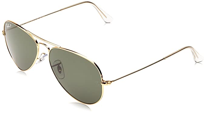 Ray-Ban - Gafas de sol Aviador Aviator Large Metal, Gold (001/58 001/58)