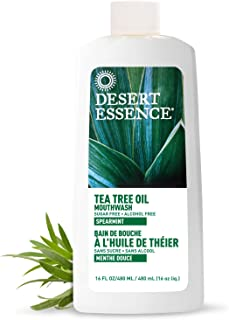 product image for Desert Essence Tea Tree Oil Mouthwash 16 Fl Oz