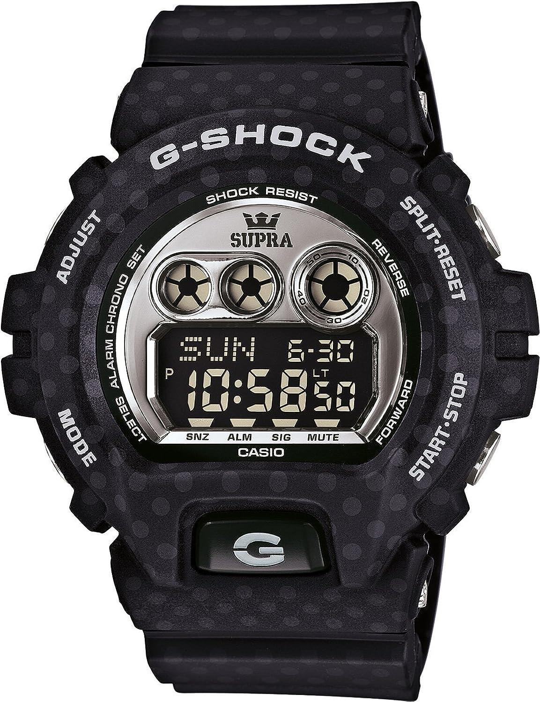 Casio G - Shock Supraコラボレーション腕時計gd-x6900sp-1drブラックLimited Edition B013XUD73U