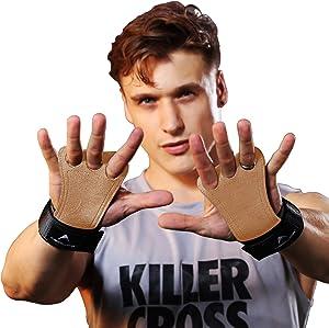 AEOLOS Leather Gymnastics Hand Grips-Great for Gymnastics