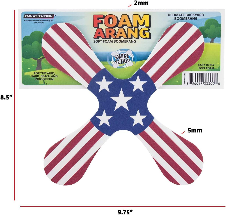 Booma Flying Sportspielzeug f/ür Kinder und Erwachsene im Freien Ultraleichtes PU-Material mehrfarbiger Original Runner Bumerang mit 3 Klingen Bumerangs f/ür Kinder