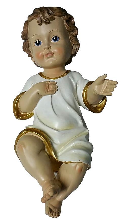 Immagini Gesu Bambino Natale.Gesu Bambino Presepe 20 Cm Statua Baby Jesus Addobbi Natale Bambinello