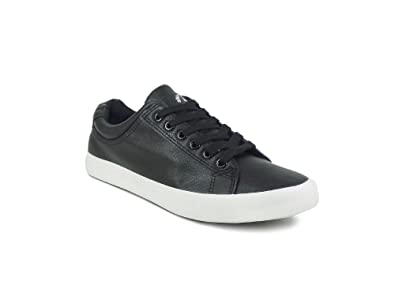 eccdd380643 Ripley Black Leatherette Suede Casual Shoes  Buy Online at Low Prices in  India - Amazon.in