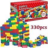 Fineway. 330pcs Kid Building Blocks DIY Toys, Children Creative Bricks Colour Blocks Educational Toys, Developing Early IQ For Kids , Educational Toys For Boys & Girls