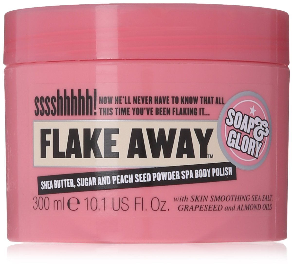 Soap & Glory Flake Away Body Scrub 300Ml by Soap & Glory