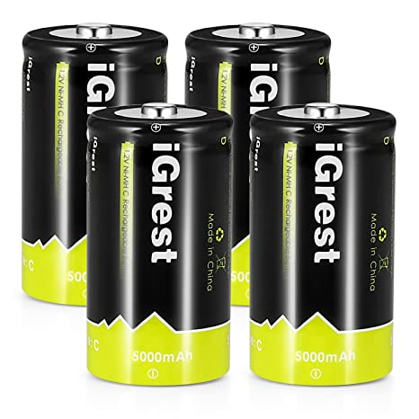 The 8 best rechargeable c batteries