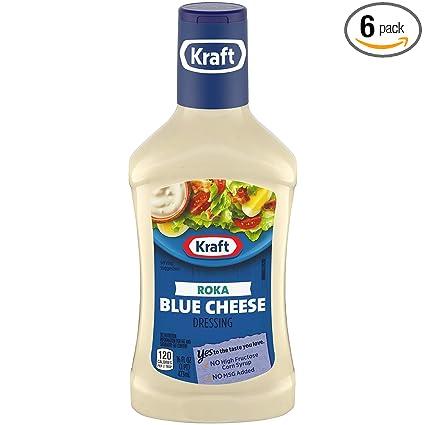 Kraft Roka Blue Cheese Dip Dressing 16 Oz Bottles Pack Of 6