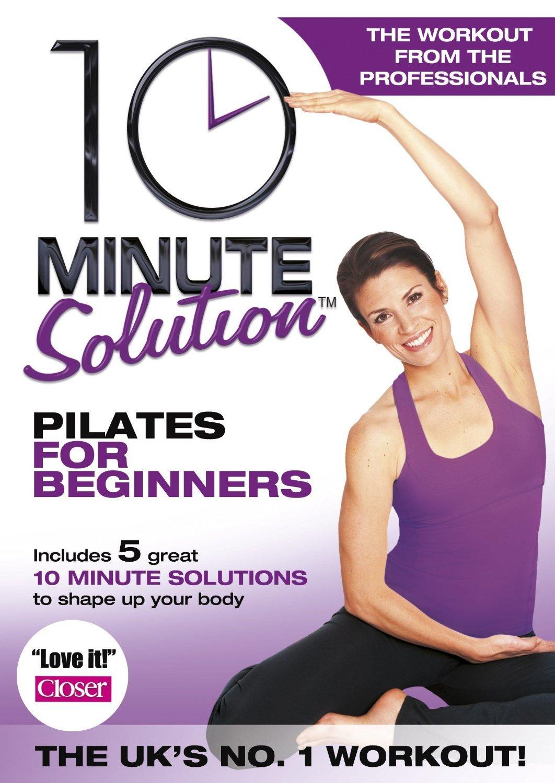 10 minutos solución - Pilates para principiantes DVD: Amazon ...