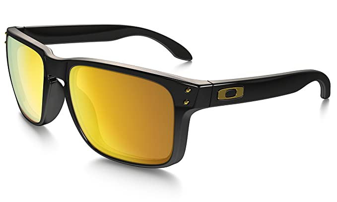 oakley eyewear xbb5  Oakley Holbrook Sunglasses, 24k Iridium Non-polarized, One Size