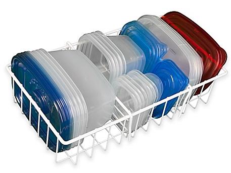 Large Adjustable Food Storage Organizer in White - www.BedBathandBeyond.com
