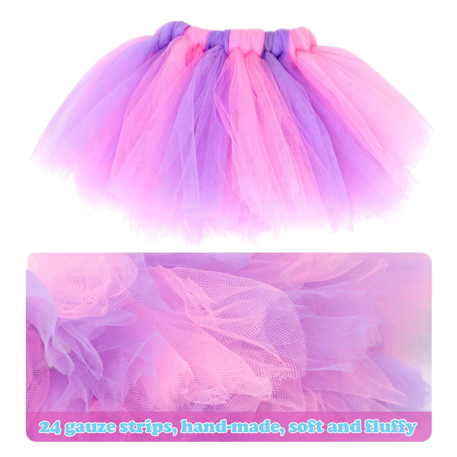 A ANNTOY 18 inch Doll Clothes 3 Pcs Headband Bodysuit Tutu Skirt 18-inch Doll Accessories for American Girl Doll Our Generation Dolls Journey Girl Dolls