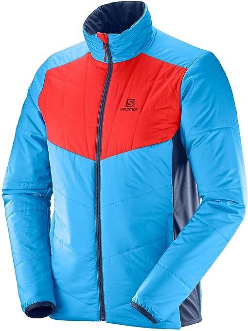 SALOMON Herren DRIFTER MID JKT M Insulated Jacket