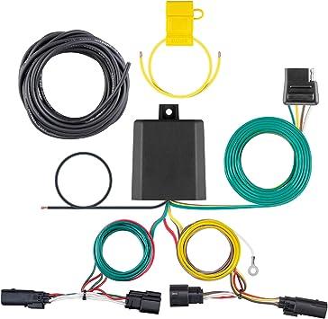 Amazon.com: CURT 56419 Vehicle-Side Custom 4-Pin Trailer Wiring Harness,  Select Chevrolet Trax: Automotive   Chevrolet Trailer Wiring Harness      Amazon