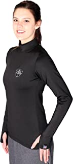 product image for Women's Fitted Cold Weather Gear Base Layer Shirt Mock Neck