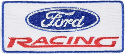 Embroidered Patch Iron Sew Logo NASCAR sport racing car motor sport