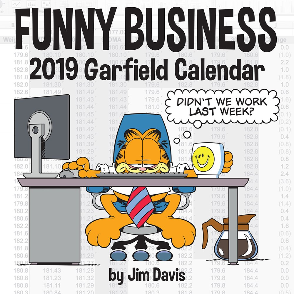 Garfield 2019 Square Wall Calendar