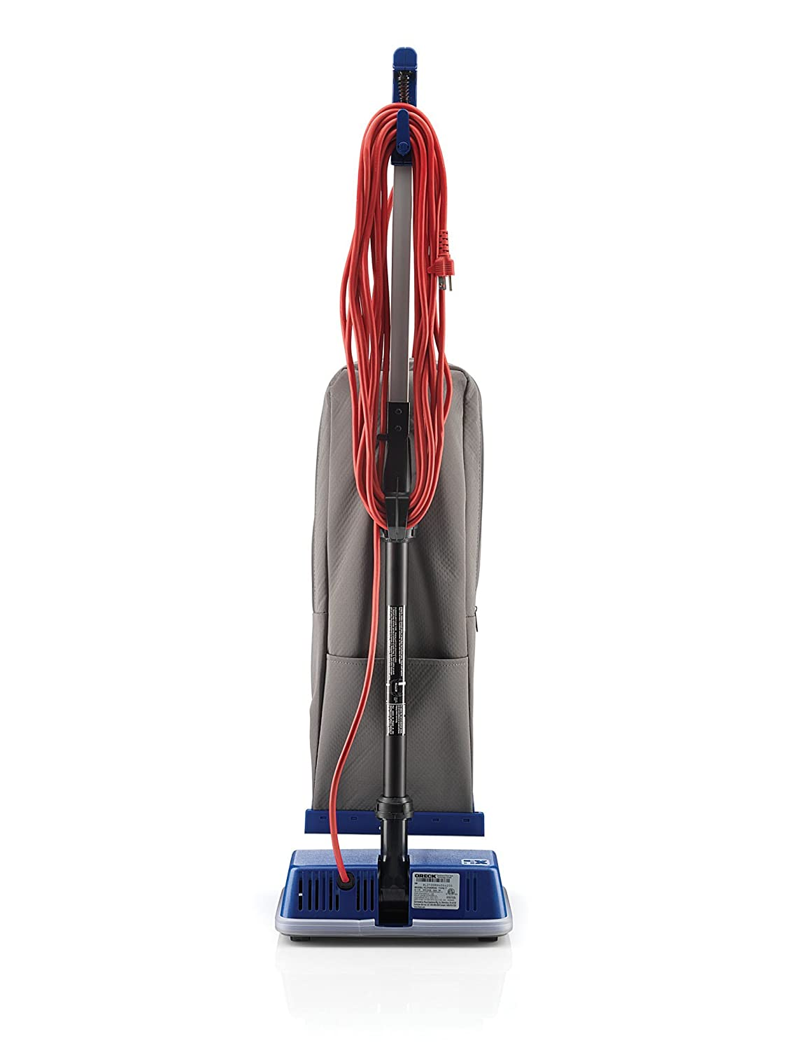 oreck commercial xl2100rhs xl commercial upright vacuum 120 v grayblue 12 12 x 9 14 x 47 34 household vacuums amazoncom industrial scientific - Top 5 Vacuum Cleaners
