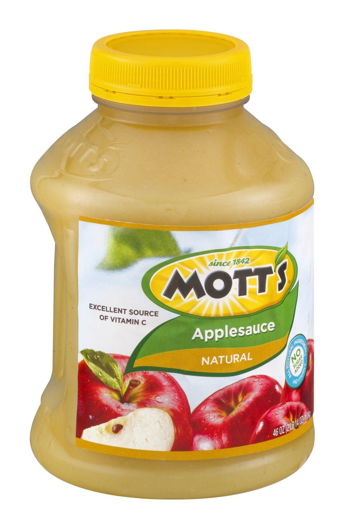 Mott's Applesauce Natural 46 OZ (Pack of 8)