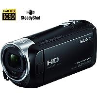 Sony Handycam CX405 con sensor Exmor R CMOS, Negra