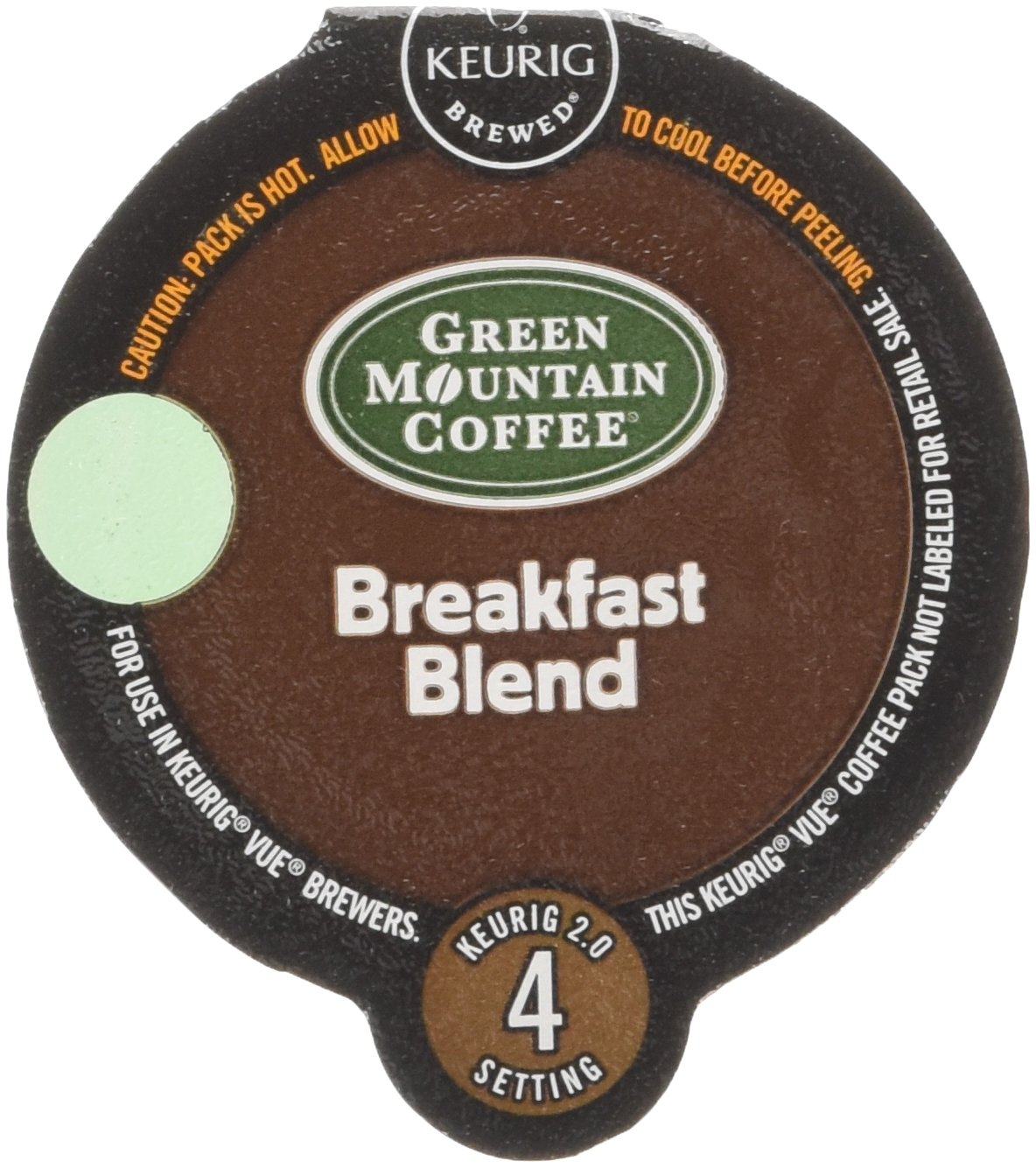 Green Mountain Coffee Breakfast Blend, Vue Cup Portion Pack for Keurig Vue Brewing Systems, 16 Count by Green Mountain Coffee Roasters (Image #1)