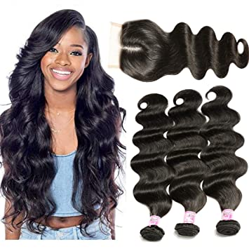 Amazon Com Beauty Forever Hair 3 Bundles Brazilian Virgin Hair